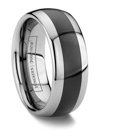 Mens Square Wedding Band