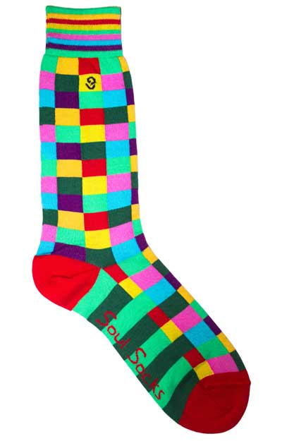 900fbc286adc Wearing Bright Socks - Men's Colorful Sock Rules - When and How to ...