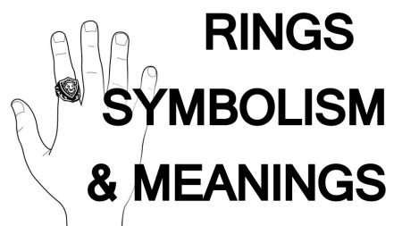 What does it mean when you wear a ring on your index finger?  This post explains ring symbolism and meanings.
