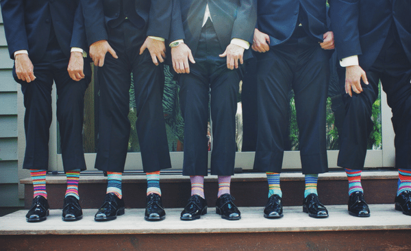 Hasil gambar untuk 4 ways to style fun socks with any outfit: