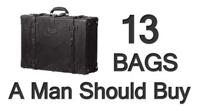 13 Bags A Man Should Buy – Visual Guide To Men's Luggage