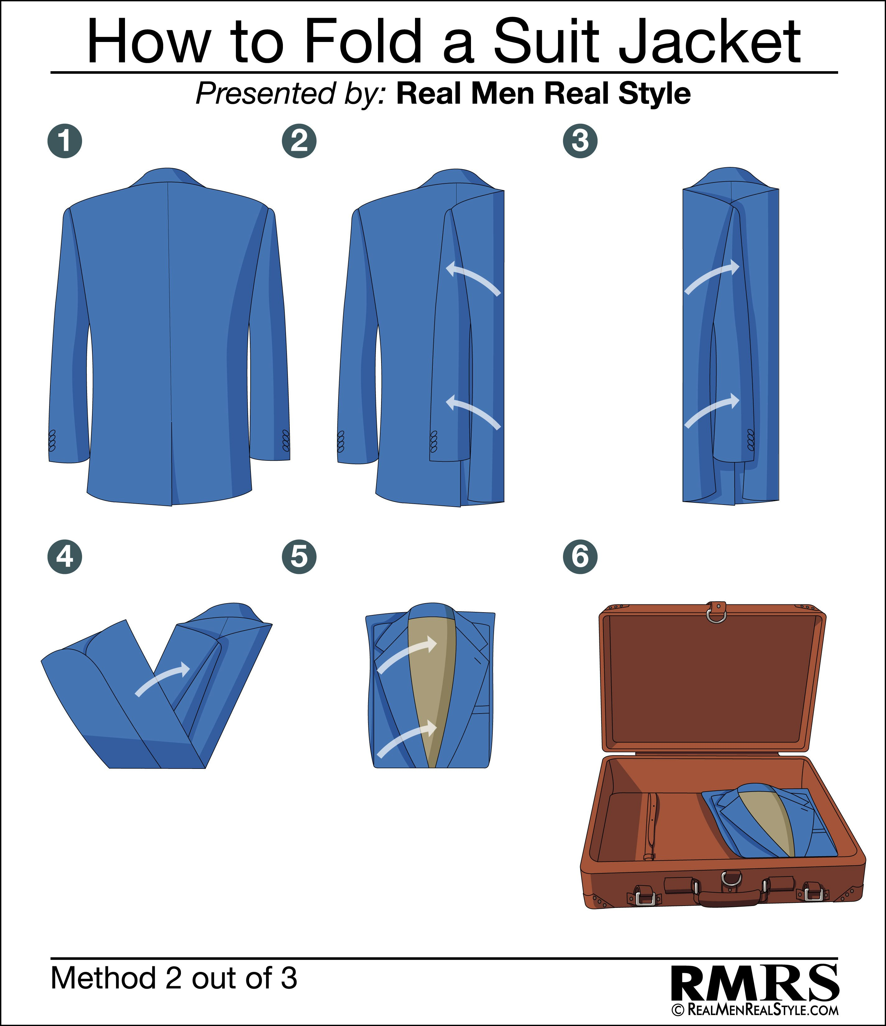 The Shirt-Style Fold