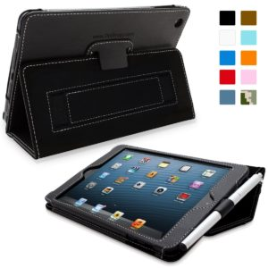 Snugg iPad Case with Flip Stand Cover and Elastic Hand Strap
