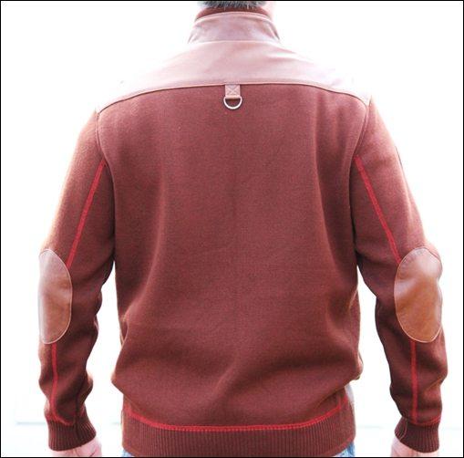 Leather Jacket Review | Men  s Half Leather Jacket & Half Fabric Coat
