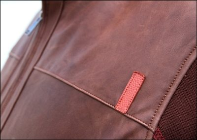 Brown JL Rocha Leather Jacket