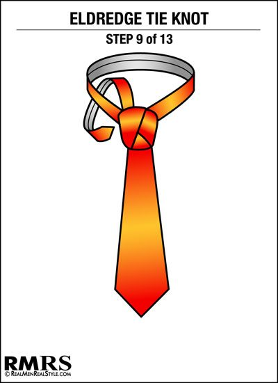 How to tie a tie the eldredge knot is this necktie too much eldridge tie knot step 9 ccuart Image collections