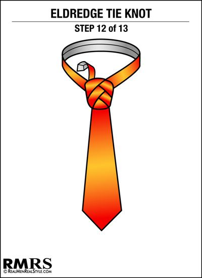 How to tie a tie the eldredge knot is this necktie too much eldridge tie knot step 12 ccuart Image collections