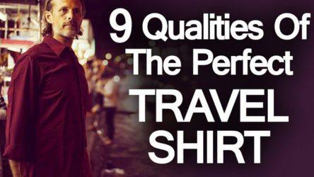 9 Qualities Travel Shirt