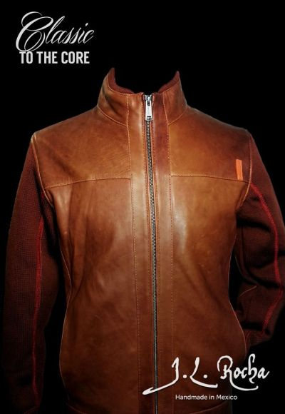 J.L. Rocha Lambskin Leather Jacket Review | Men's Half Leather ...