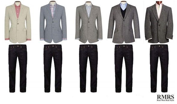 25 Jackets & 15 Trousers Yield 375 Combinations