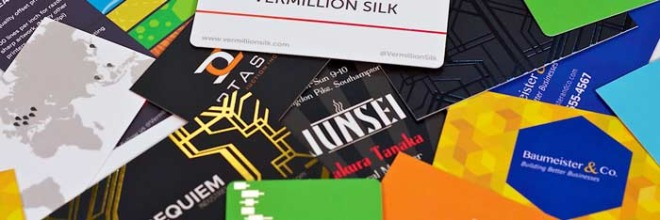 5 tips to create the perfect business card how to design vermillion silk business card collection wide reheart Images