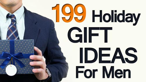 199 Holiday Gift Ideas For Men – 2014 Christmas Gift Guide From ...