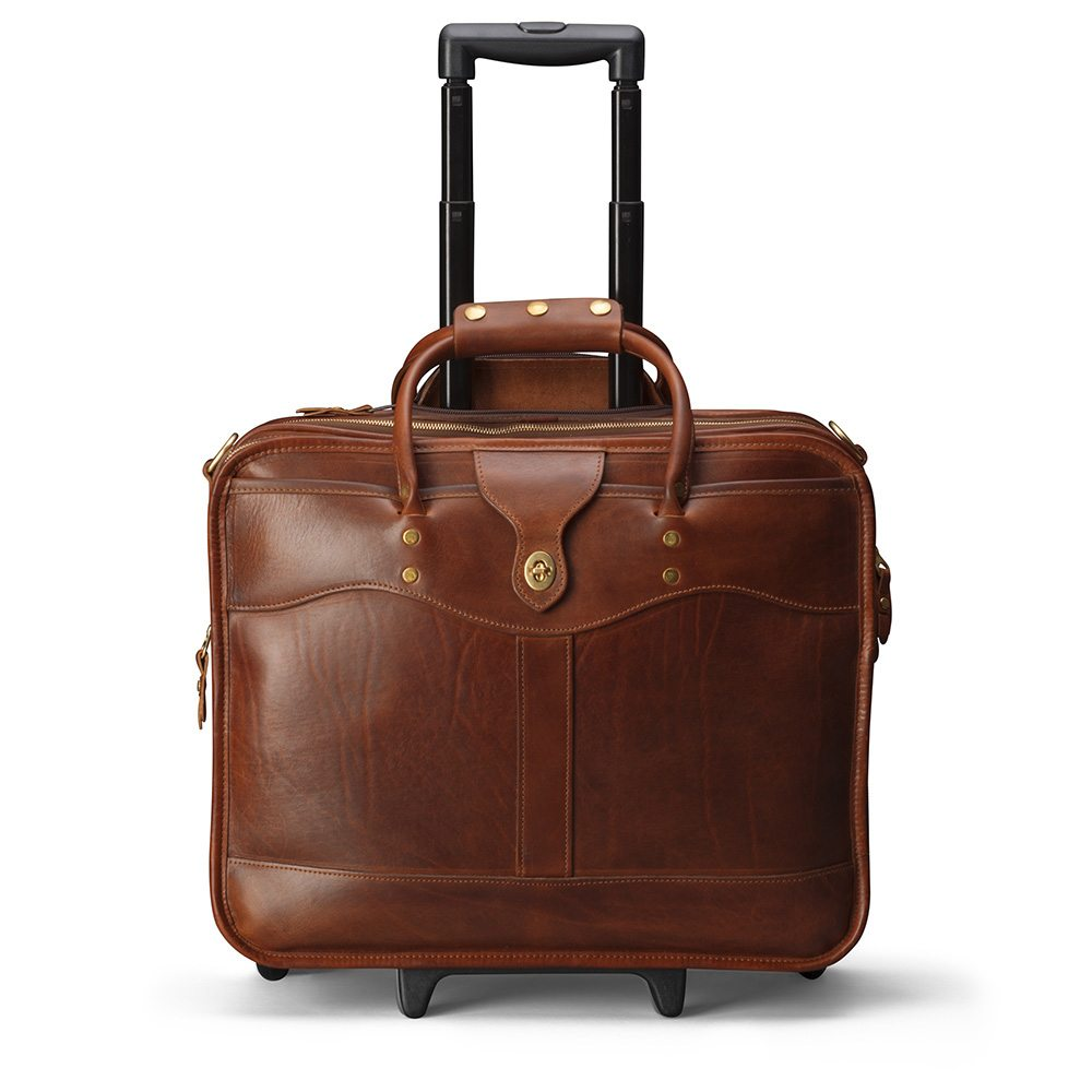 JW Hulme Overnight Briefcase Front