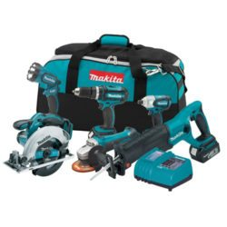 Makita LXT601 18-volt Lithium-Ion Cordless 6-Tool Combo Kit