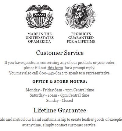 Customer Service J.W. Hulme Co. copy