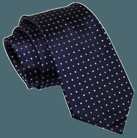 The Dark Knot Waltham Dots - Navy Blue