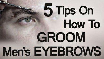Eyebrow Grooming Tips For Men | How to Groom Trim Men's Eyebrows ...