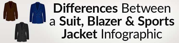 Differences Between a Suit Jacket, Blazer Jacket and Sports Jacket ...