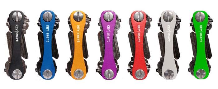Mit dem KeySmart kannst du deinen Schlüsselbund auf die Größe einer Kaugummipackung schrumpfen lassen Das ultraschlanke Design passt in alle Taschen Kein Geklimper mehr und schon gar kein unangenehmes Ausbeulen in der Hosentasche oder Verheddern in der Handtasche