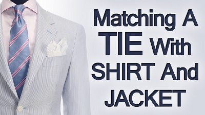 8483a0745a1a 5 Tips Matching Ties Shirts & Jackets | Rules On Matching Clothing | Suit  Shirt Tie How To Match