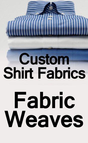 Custom Shirt Fabrics Weaves tall