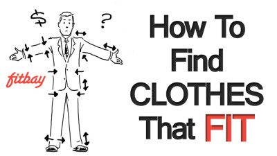 1 Problem Men Have Buying Clothing Proper Fit 3 Reasons To Use