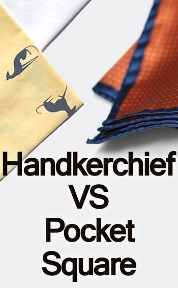 Handkerchief Vs Pocket Square | Difference Between
