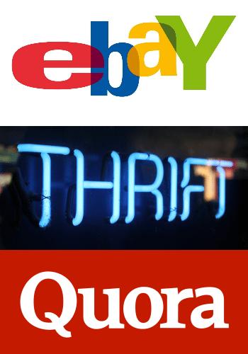 Ebay Thrift Quora