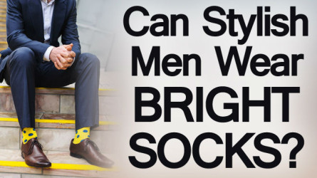 91c0e1784 Wearing Bright Socks   Men's Colorful Sock Rules   When and How to ...