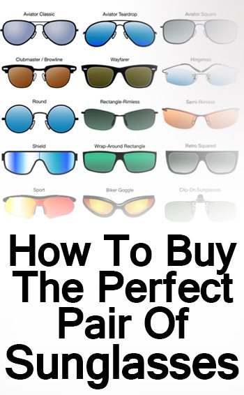 517fd63bb4c6 Buying Men's Sunglasses | Sunglass Style Guide | How To Purchase Perfect  Pair Of Shades For Your Face Shape