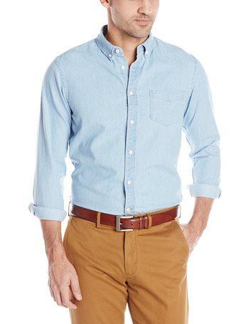 Men Chambray Shirt