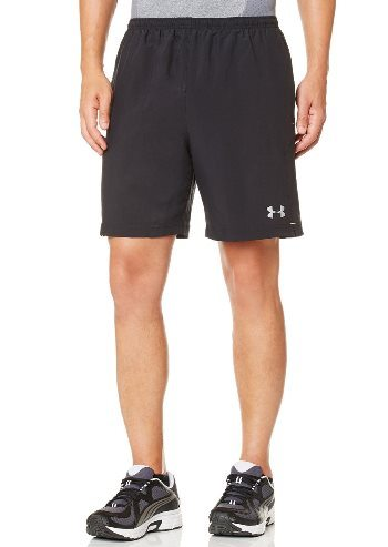 Under Armour Men's UA Escape 7' Solid Run Shorts Medium Black
