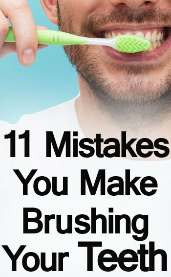 11 Mistakes To Avoid While Brushing Teeth | Toothbrush, Mouthwash
