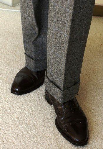Trouser Breaks Explained How A Man S Trousers Should Break