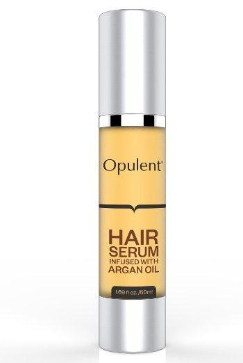 Best Hair Serum with Argan Oil + Vitamin E for Hair Treatment