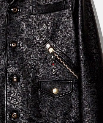 Leather Jaket Pockets