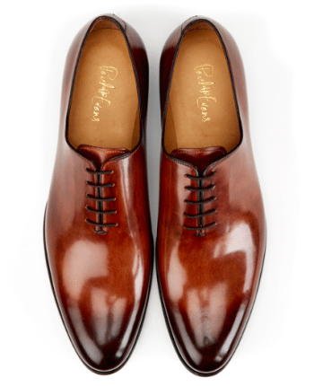 Whole-cut leather shoes Paul Evans