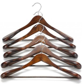 white wooden coat hangers target extra wide shoulder suit wood clothing closet collection retro finish with trouser clips bulk uk