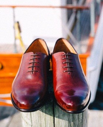 Paul Evans wholecut oxford shoes