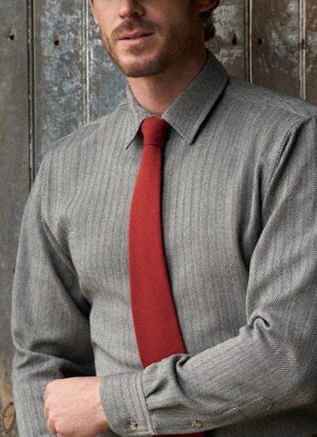 mens-wool-dress-shirt-herringbone