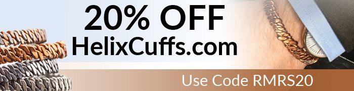 Helix Cuffs Discount Banner