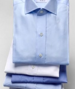 Ledbury Shirts - White and blue shirts