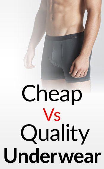 Inexpensive Vs Quality Underwear | A Man's Guide To Underwear | 5 Underwear  Styles For Men
