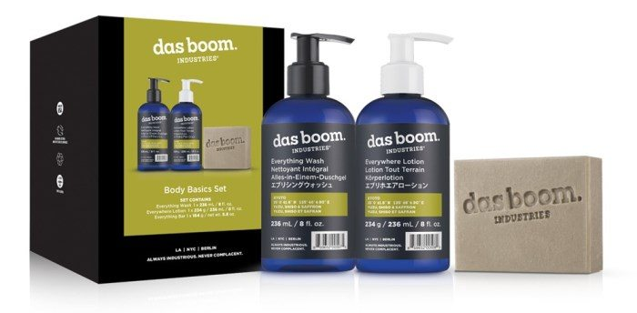 das boom industries Body Basics Set