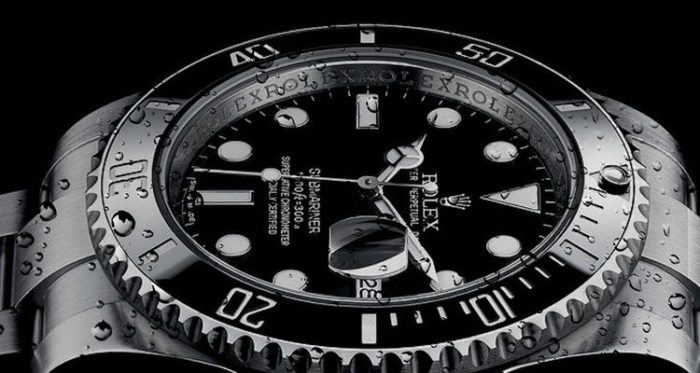 rolex dive watch.