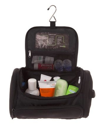 how to pack a toiletry bag for carry on