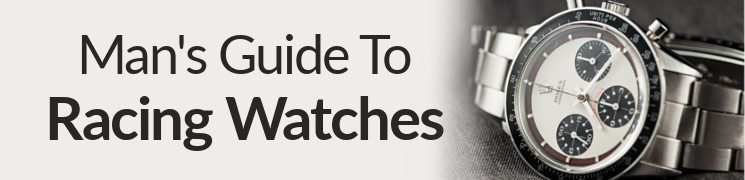 The Man's Guide To Racing Watches | How To Buy The Right Race Watch