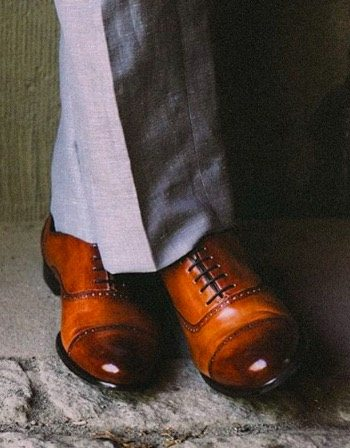 Paul Evans Brando semi brogues