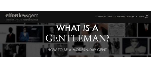 What Is A Gentleman How to be a modern day gent Effortless Gent