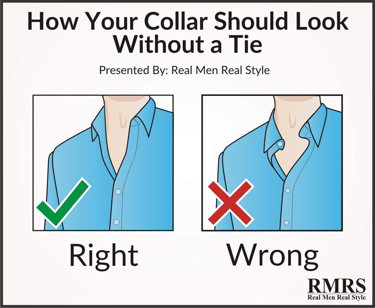 5 Tips To Perfect Looking Shirt Collars